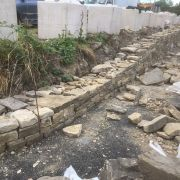 Reclaimed Dry Stone Walling